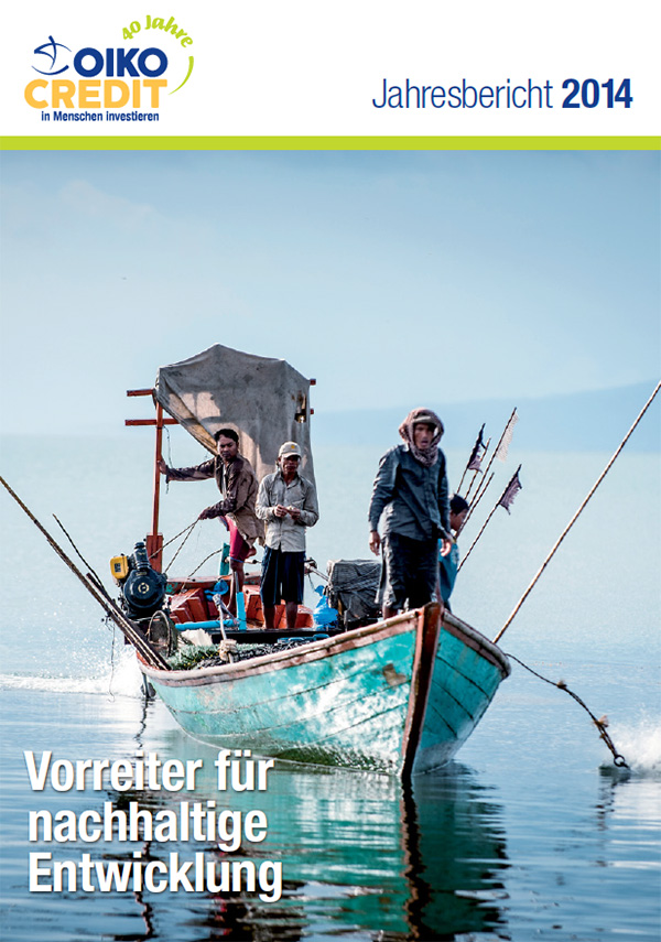 Cover annual report 2014 German
